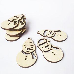 Snežaki - okraski za jelko